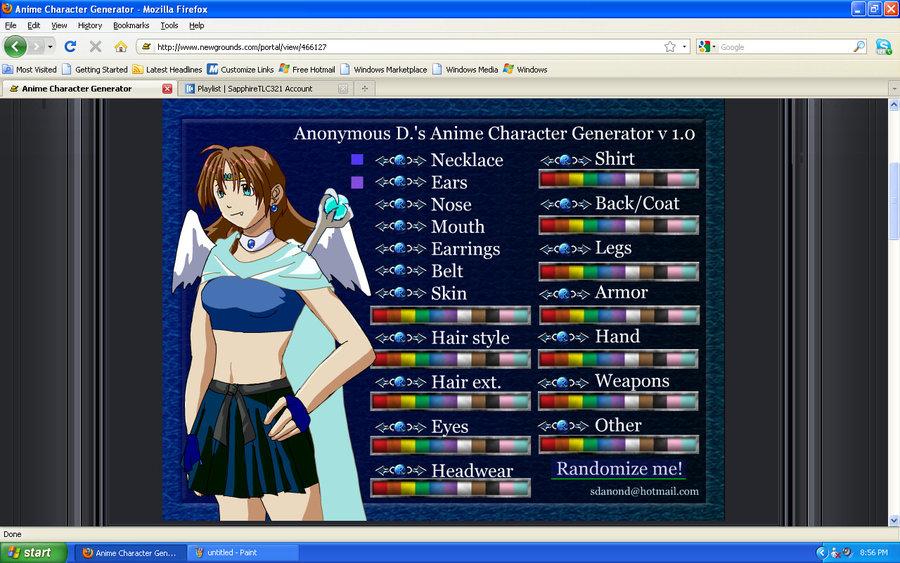 anime character maker